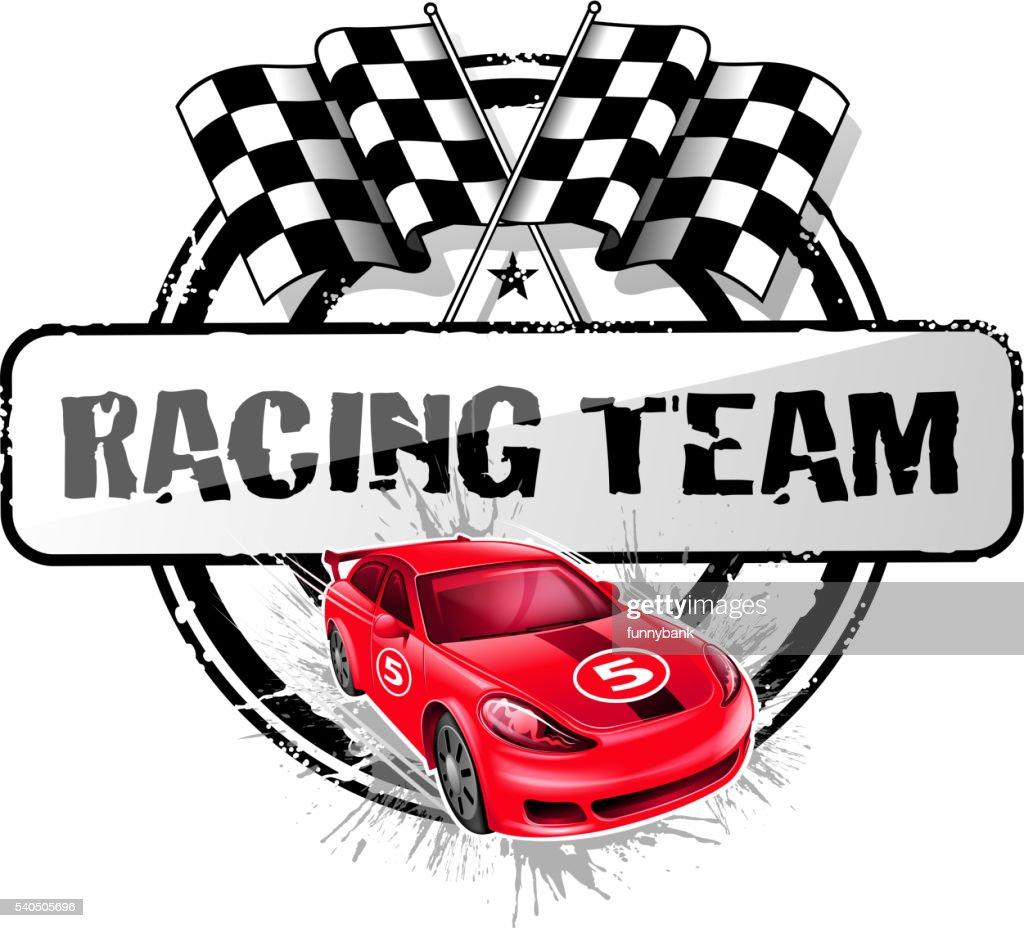 sports race symbol : stock illustration