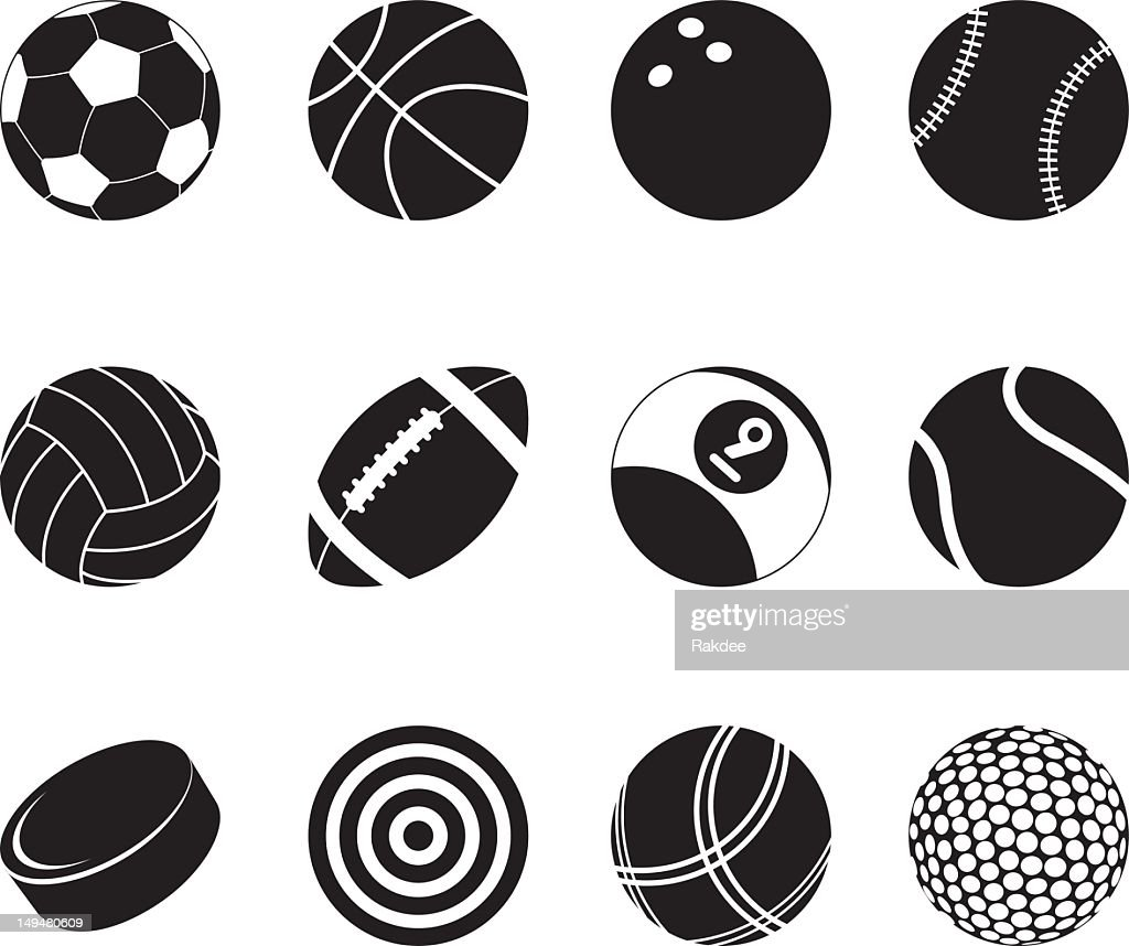 Sports Silhouette Icons