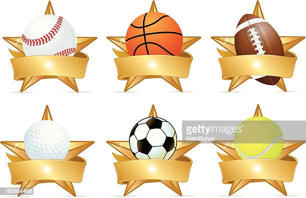 Sports Stars, Football, Baseball, Basketball, Golf, Soccer