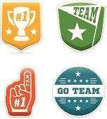 Sports Team Badges
