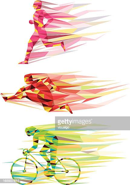 sports - track and field stock illustrations, clip art, cartoons, & icons