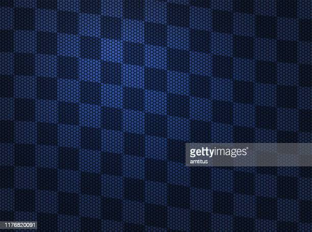 sporty - checkered flag stock illustrations
