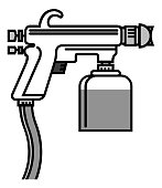 Free Spray Gun Clipart and Vector Graphics, page 2