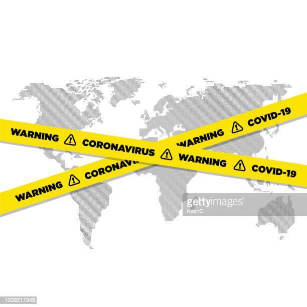 ilustraciones, imágenes clip art, dibujos animados e iconos de stock de difusión del coronavirus de la plantilla vectorial de china, covid-19, wuhan - cuarentena