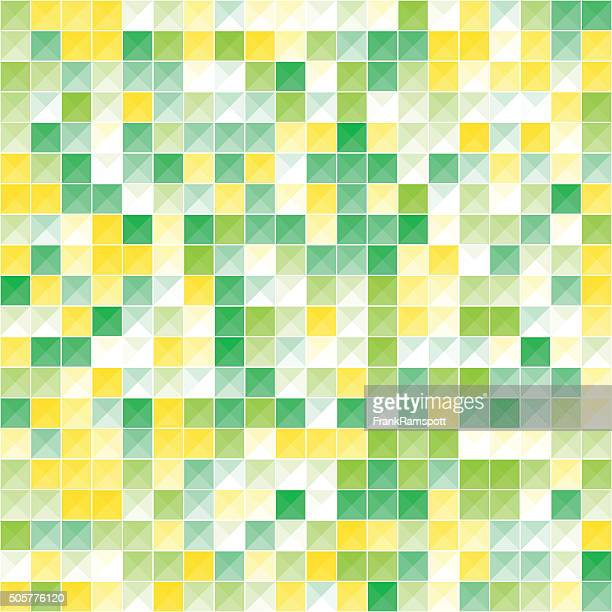 Frühling abstrakt Dreieck Form Muster