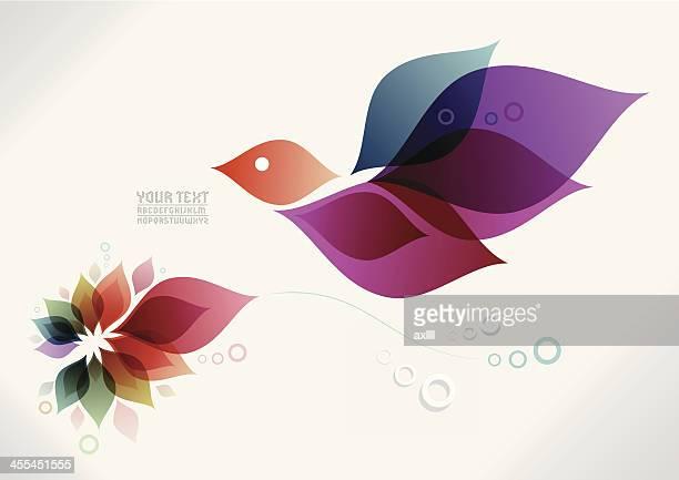 spring bird background