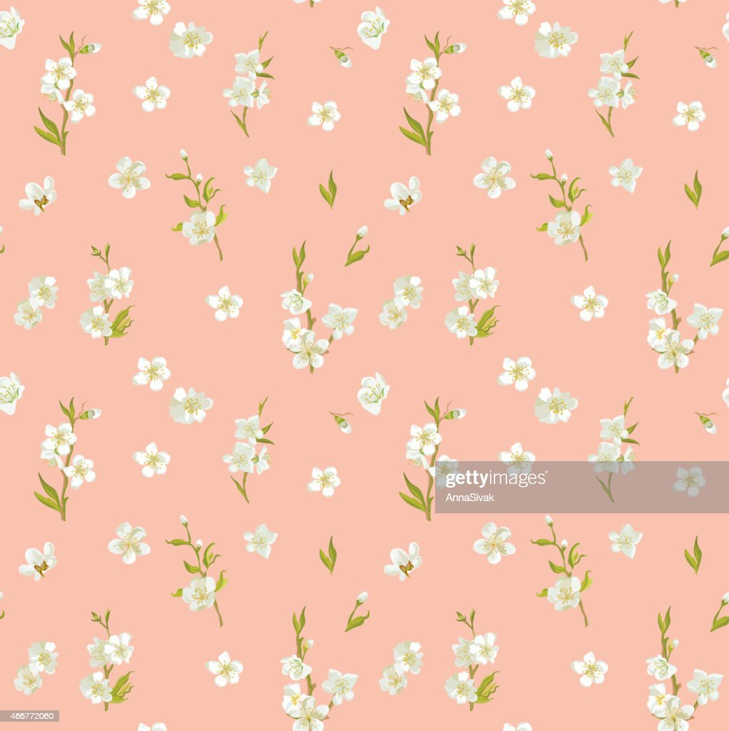 Spring Blossom Flowers Background