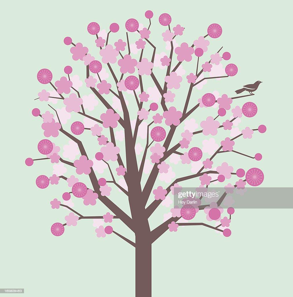 Flores de primavera : Ilustración de stock