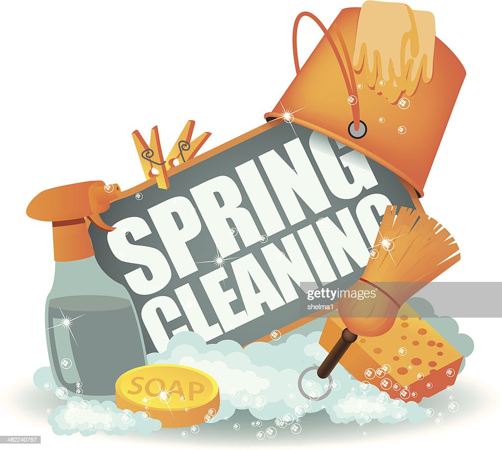 Spring Cleaning Icon.