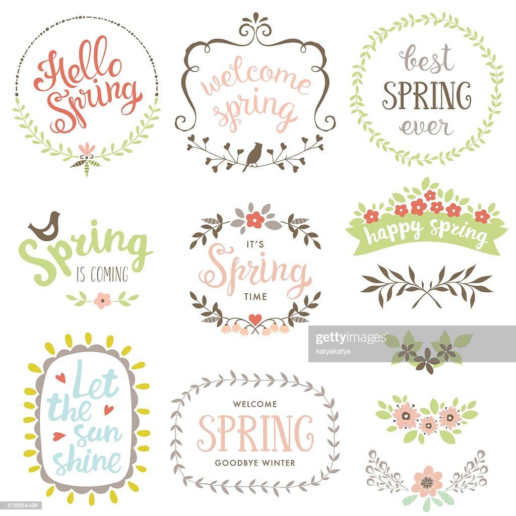 Spring Design Set