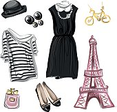 Spring Fashion in Paris style