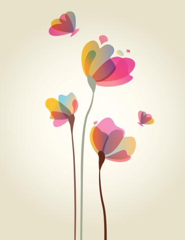 Spring Flower Artwork - gettyimageskorea