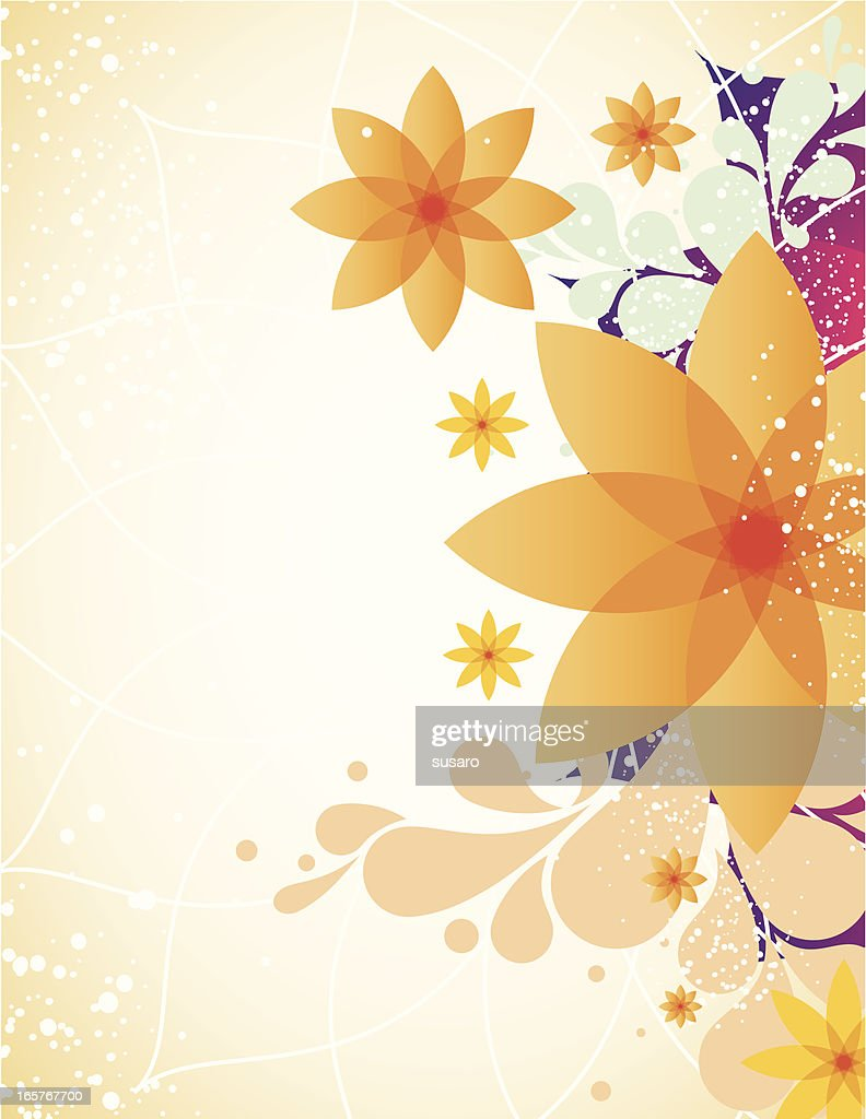 Spring Flower Background Vector Art Getty Images