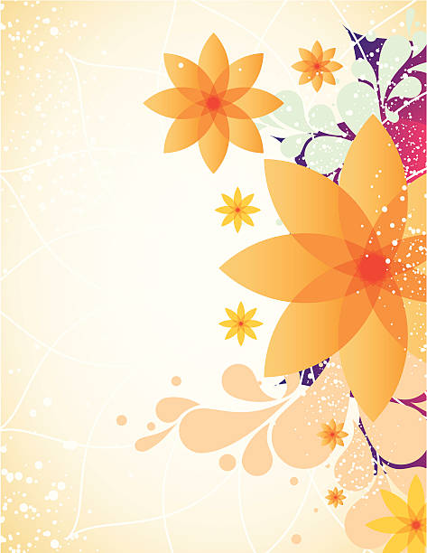spring flower background - femininity stock illustrations