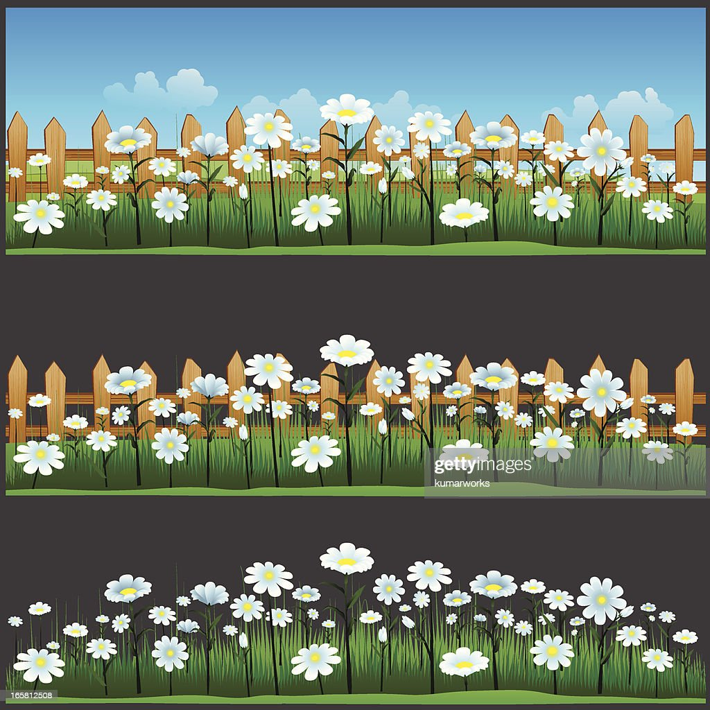 Spring Flowers Banner Vector Art Getty Images