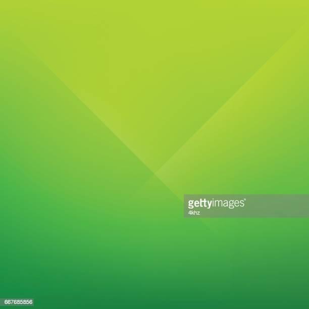 Spring Green Minimal Fold Line Background