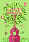 Spring music festival