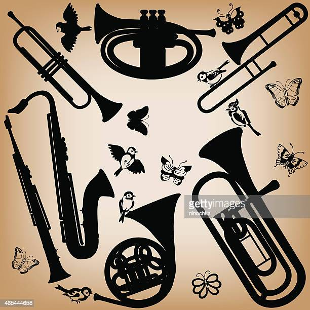 60 Top Brass Band Stock Vector Art & Graphics - Getty Images