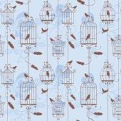 Spring pattern, vector illustration