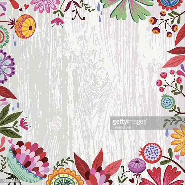 spring-sommer flowers design. - mothers day stock illustrations