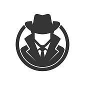Spy agent. Detective