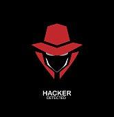 spy agent, secret agent, hacker. Secret service agent icon. Incognito. undercover.