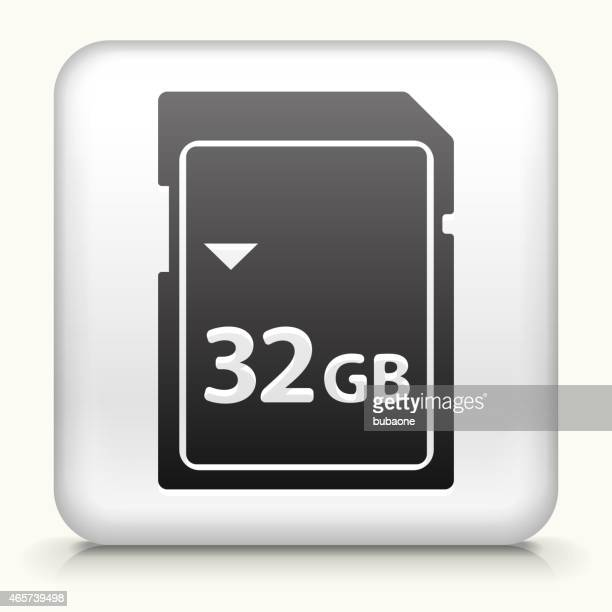 Square Button with 32GB SD Card