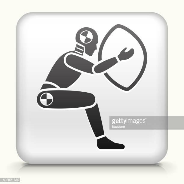 Square Button with Airbag Test