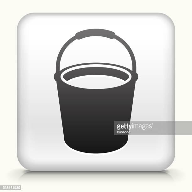 Square Knopf mit Reinigung Eimer