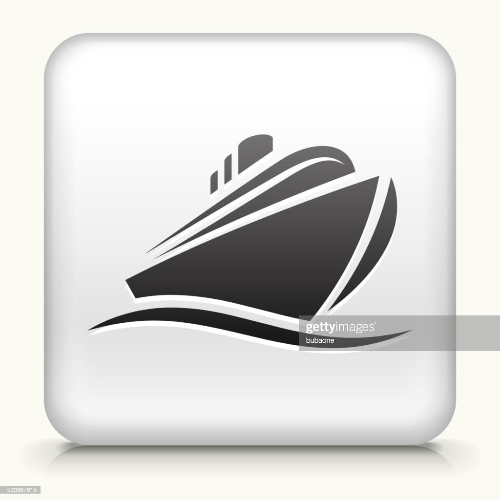 Square Button with Cruiseliner