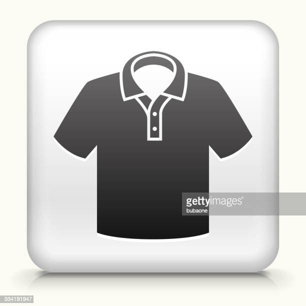 Square Button with Polo Shirt