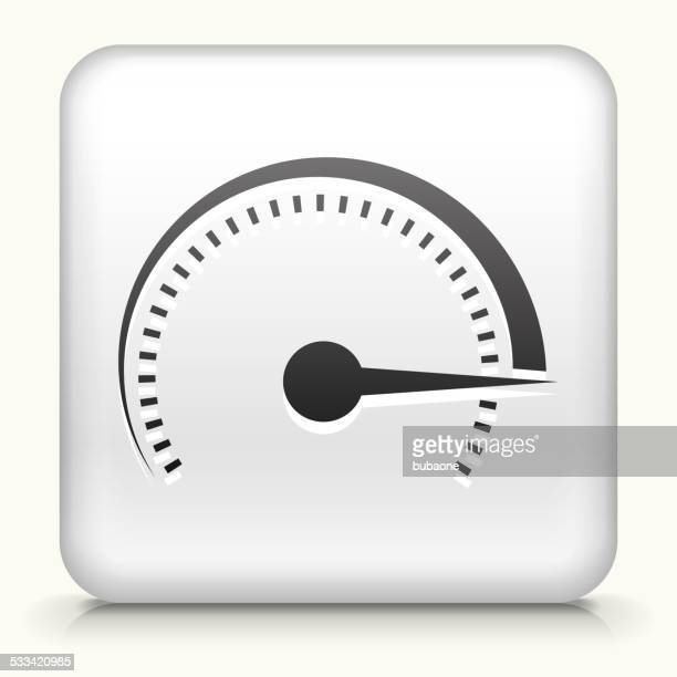 square button with top speed royalty free vector art - parking meter stock illustrations