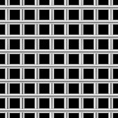 Square jail bars pattern. Iron prison cell seamless vector.