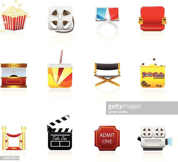 Square Movie Icons