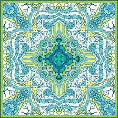 Square  paisley pattern