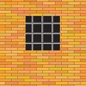 Square Prison Window