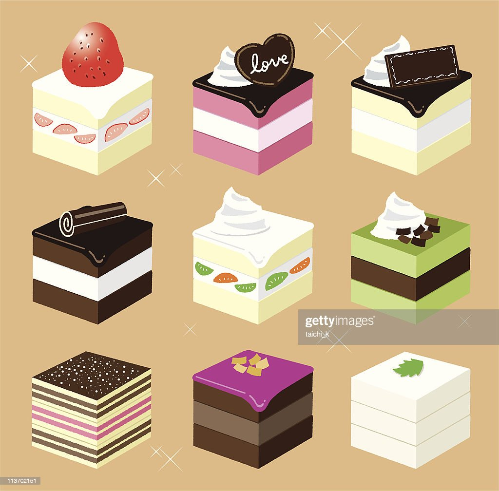 Square sweets