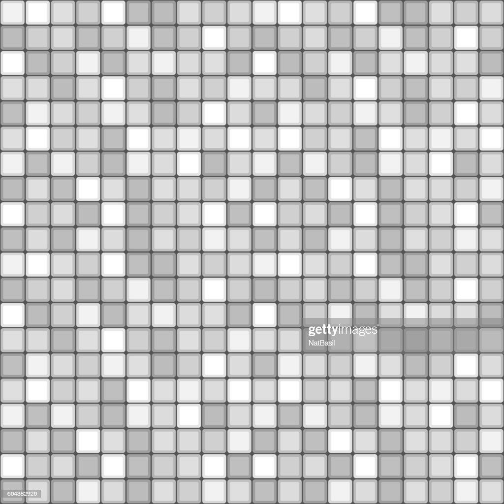 square tile with grey colors. seamless pattern