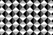 Square vector pattern,