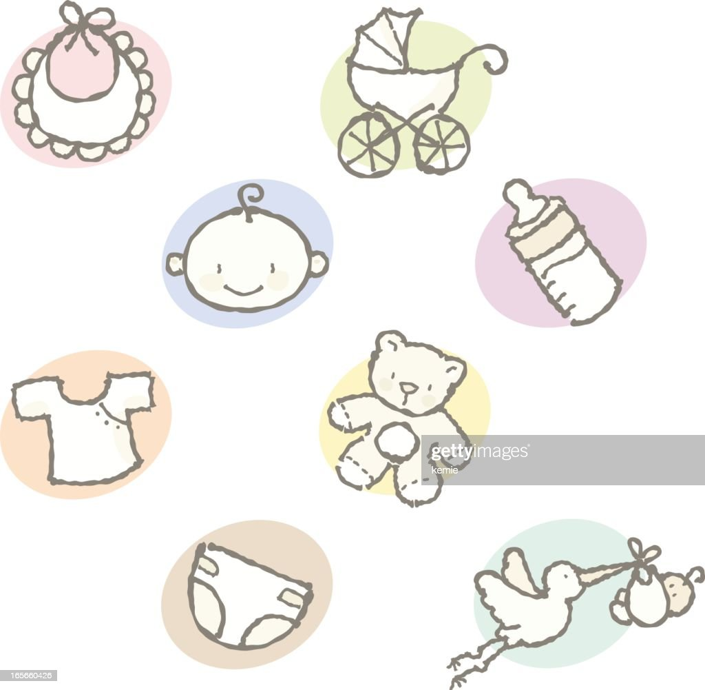 squiggles: baby icons