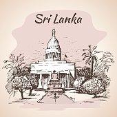 Sri Lanka, Colombo City Council Town Hall