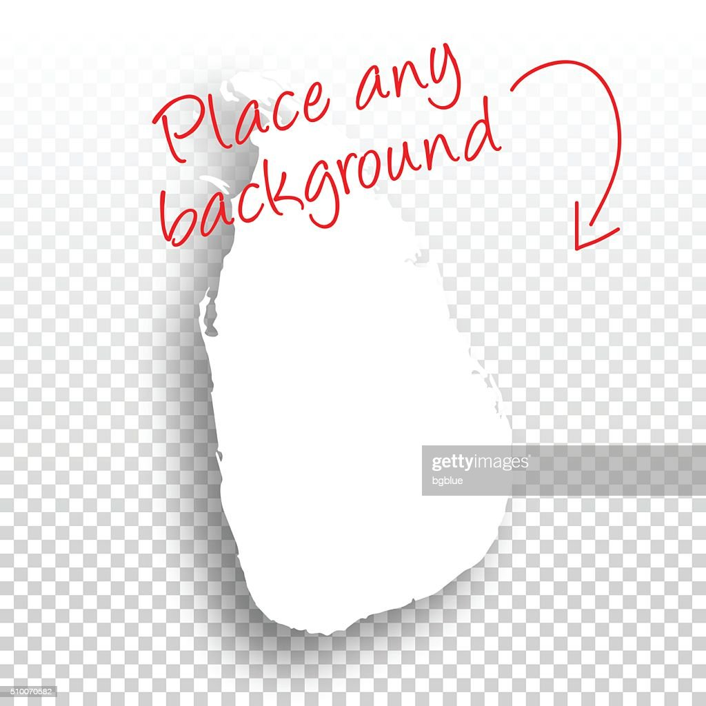 Sri Lanka Map For Design Blank Background Vector Art | Getty Images