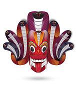 Sri Lanka Traditional dancing mask