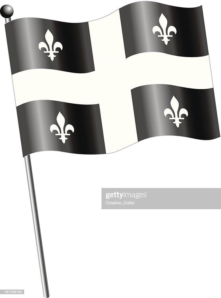 St Jean Baptiste Flag