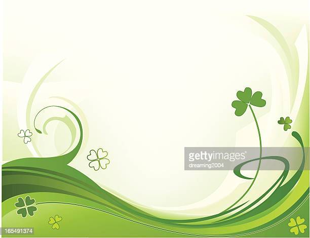 St. Patrick's Tag Hintergrund