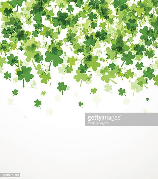 st. patrick's day background - day stock illustrations, clip art, cartoons, & icons