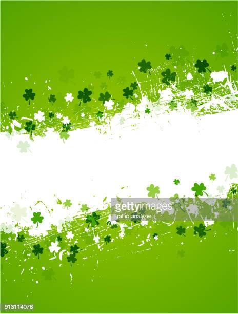 st. patrick's day background - st. patrick's day stock illustrations, clip art, cartoons, & icons