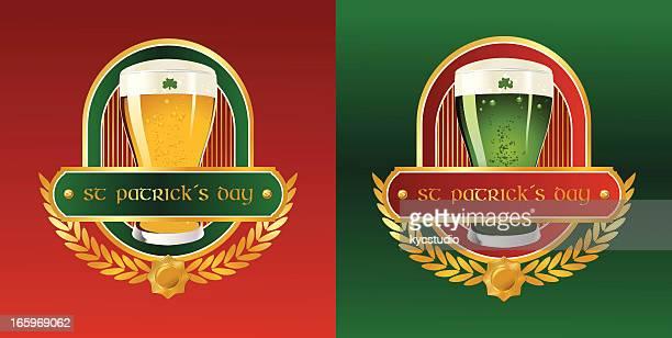 St. Patrick's Day beer label