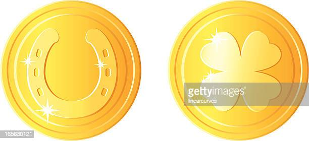 St Patricks day coins