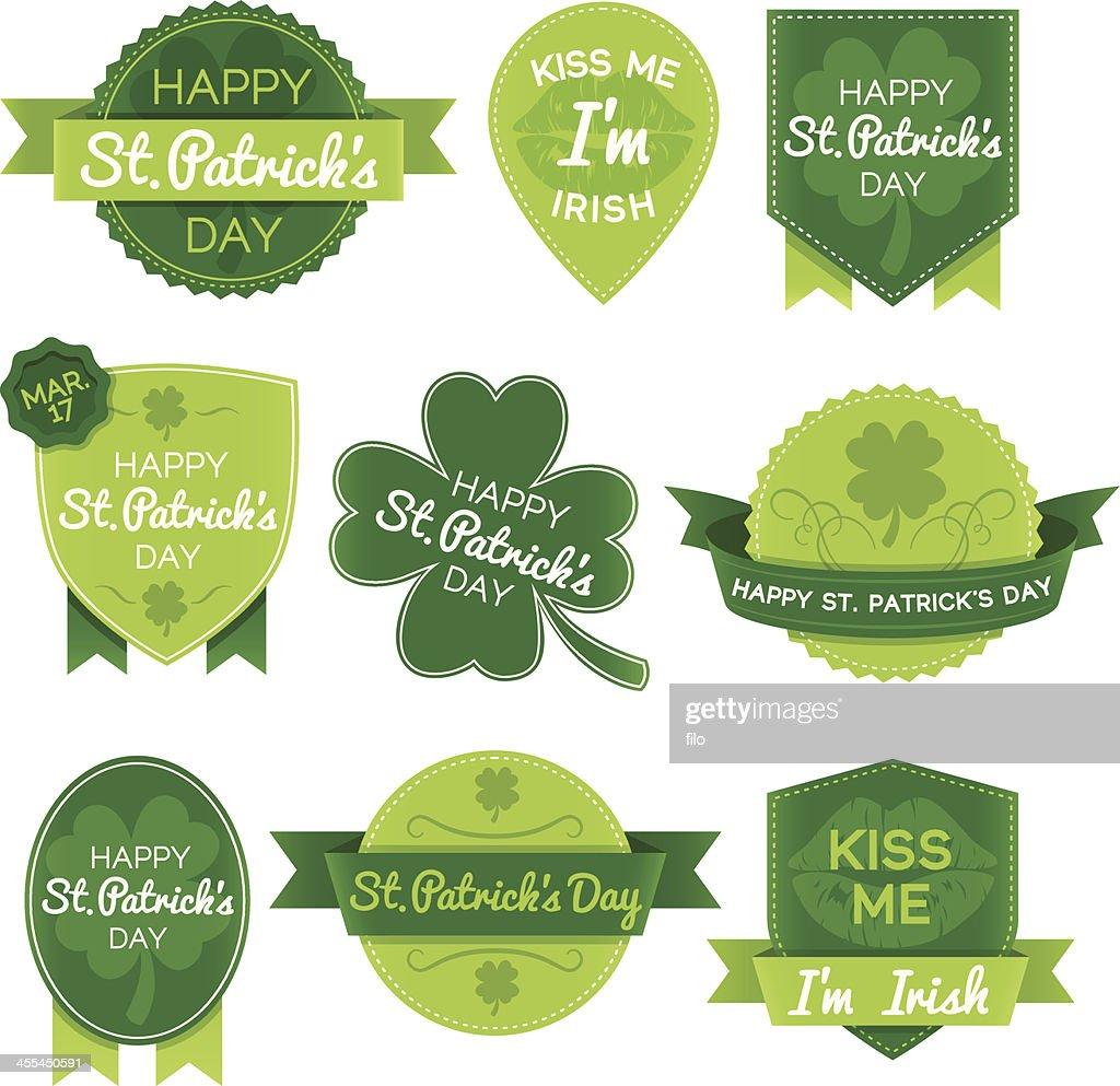 St. Patricks Day Elements : stock illustration